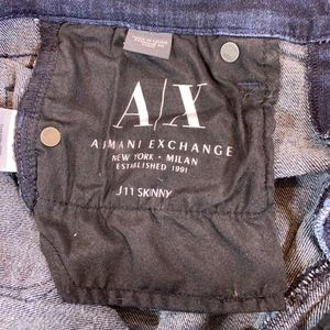 Armani Exchange Jeans - Armani Exchange Skinny Jeans Jambe Etroit 27 S/C